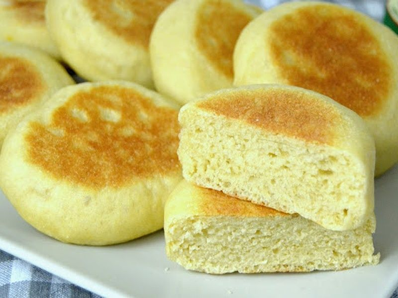 bollitos de pan hechos a la sarten