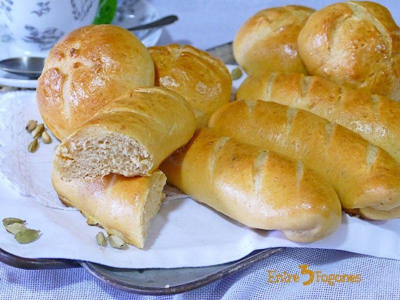 Panecillos de leche con batata
